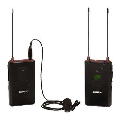 Microfone de lapela FP15/83 - Shure