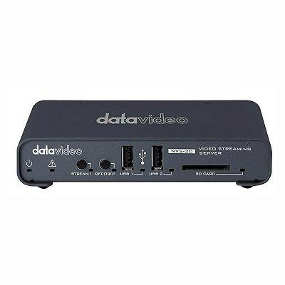 NVS-30 servidor de streaming e gravador H.264 - Datavideo