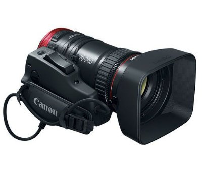 Lente Canon 70-200mm T4.4 EF Cinema Compact-Servo