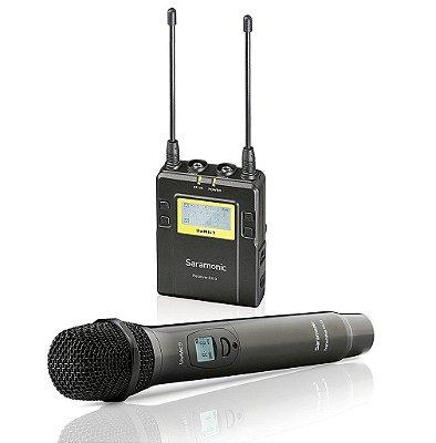 Microfone de mão sem fio RX9 + HU9 Pack - Saramonic
