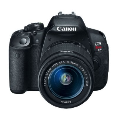 CAMERA CANON EOS REBEL T5I COM LENTE EF-S 18-55 IS STM