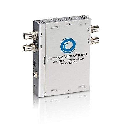 Placa de Captura MicroQuad SDI para Multivisualizadores HDMI para 3G/HD/SD - Matrox
