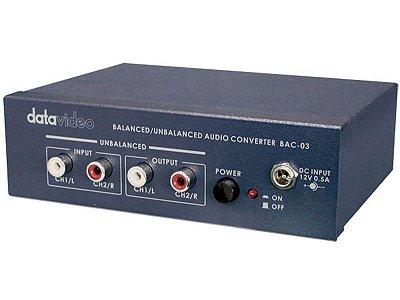 Conversor BAC-03 - Datavideo