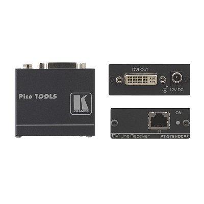 Transmissor DVI sobre Par Trançado PT-572HDCP+ - Kramer