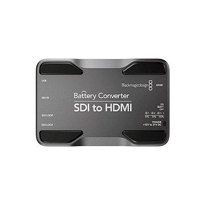Conversor com Bateria de SDI para HDMI - Blackmagic