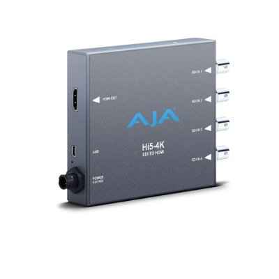 Conversor Hi5-4k 4K SDI para 4K HDMI - AJA