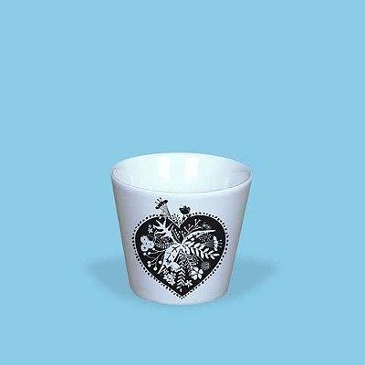 Copinho expresso em porcelana - by Thais Mor