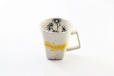 Caneca - Flor de camomila