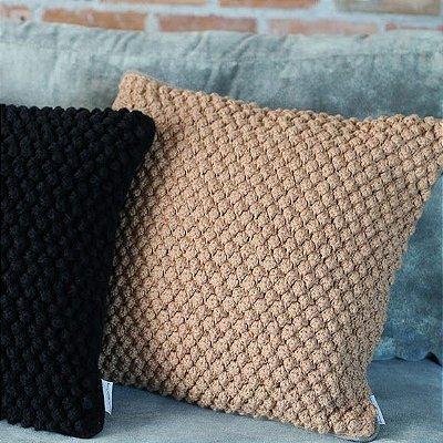 Almofada crochê - Renata Mccartney Home