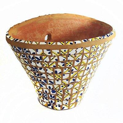 Vaso de Parede - Coleção Estampas