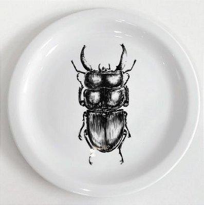 Prato Escaravelho - unitário