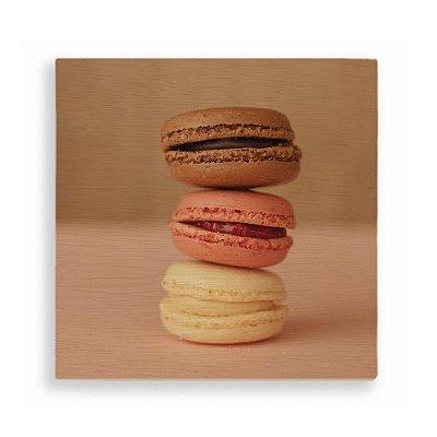 Quadro Macarons