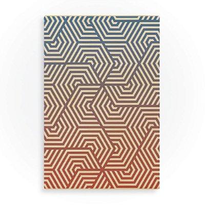 Quadro Geometric Pattern-Buttercup