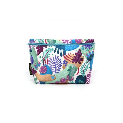 Mini Bag Seaweed Branca