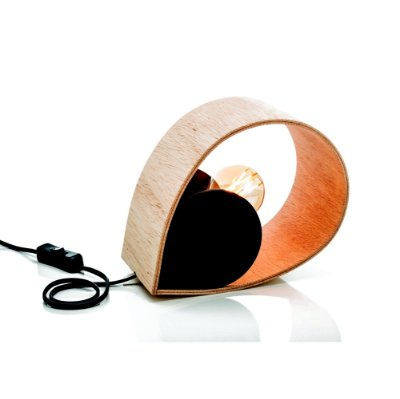 Luminária Orvalho - preta