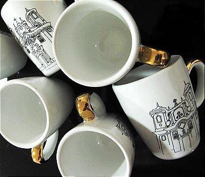 Xícara Café Longo - igrejas