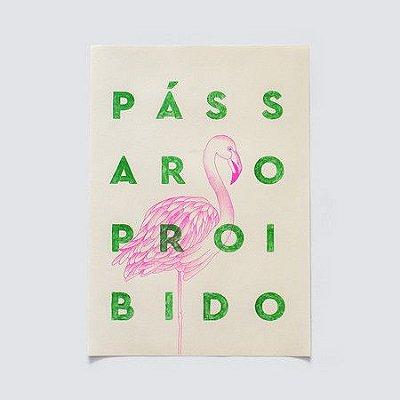 Poster Passaro Proibido