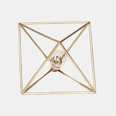 Luminária Pomelo Dourada