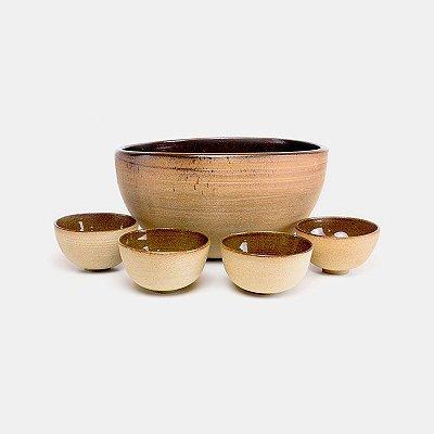 Jogo multibowls em cerâmica