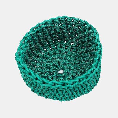 Bowl em corda náutica - verde