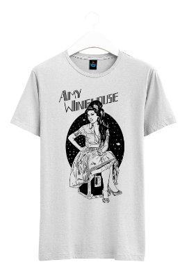 Camiseta Estampada Amy Winehouse