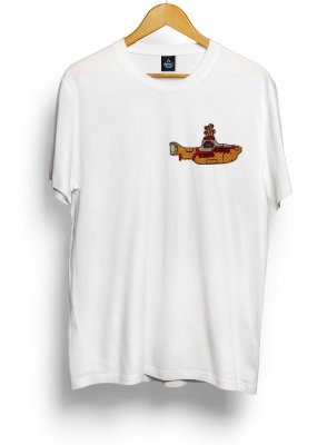 Camiseta Bordada Beatles Yellow Submarine