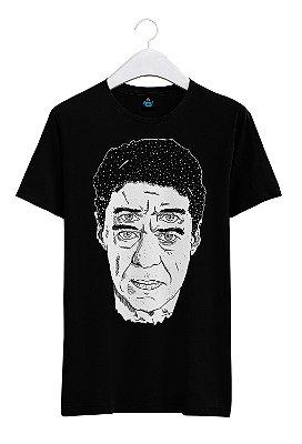 Camiseta Estampada Francisco Buarque de Holanda