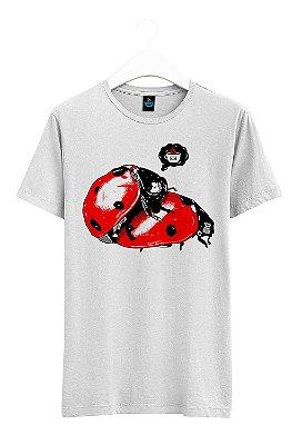 Camiseta Estampada Joaninha