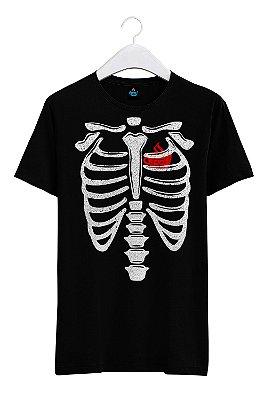 Camiseta Estampada Costela