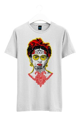 Camiseta Estampada Frida Kahlo