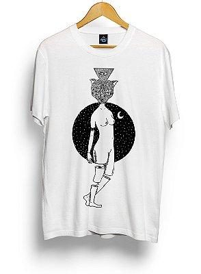 Camiseta Mulher Gata