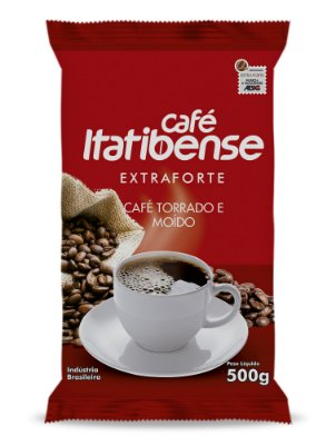 Café Itatibense Extra Forte em pó - 500g (Almofada)