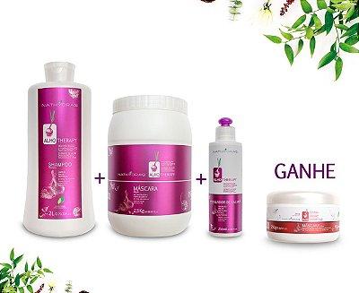 Combo 4 Profissional Nathydra's Alho Therapy - MSA Kosmetic