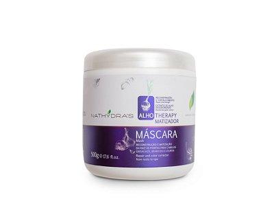 Máscara Matizadora Nathydra's Alho Therapy Reconstrução e Fortalecimento 500g - MSA Kosmetic