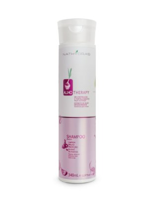 Shampoo Nathyra's Alho Therapy Reconstrução e Fortalecimento 340mL - MSA Kosmetic