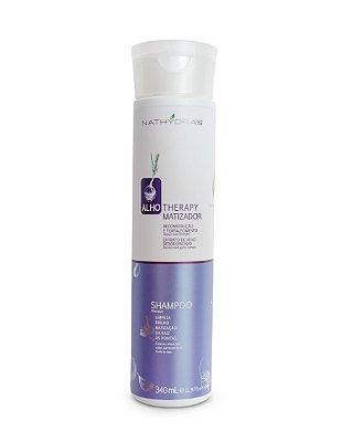 Shampoo Matizador Nathydra's Alho Therapy Reconstrução e Fortalecimento 340mL - MSA Kosmetic