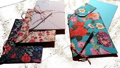 Um Cartão Lindo e Florido