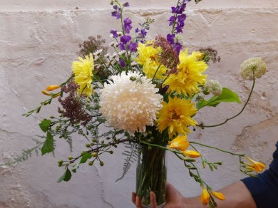 Flores em Um Vaso