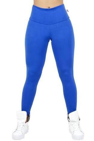 Calça Legging Azul / Tam. M