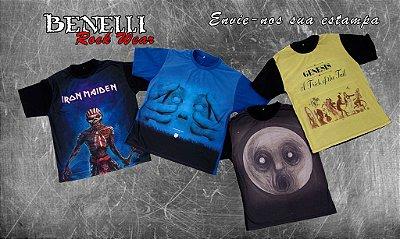 Pacote de Camisetas (escolha cores e estampas)