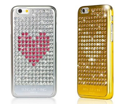 HEART ON | Capa Cristal Swarovski para iPhone 6s 6 | 210 pedras