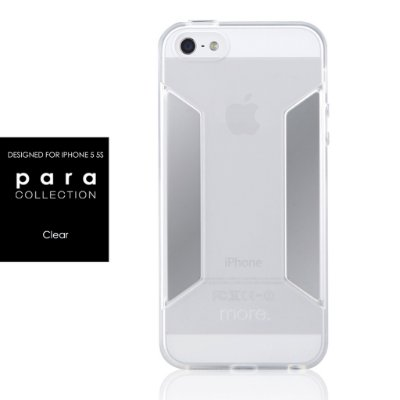 Para Collection - Capa iPhone SE e iPhone 5S + Película
