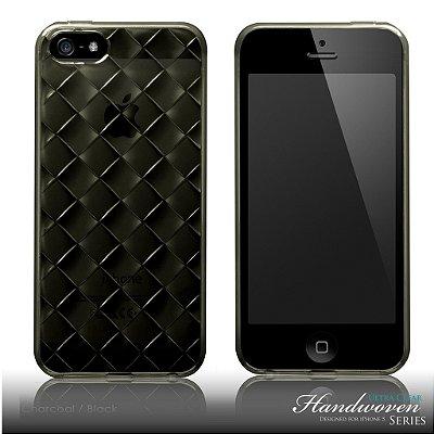 Capa super proteção para iPhone SE e iPhone 5s + Pelicula - Coleção Handwoven Ultra Clear