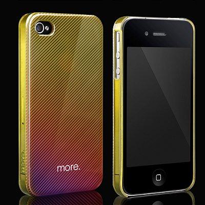 Duplex Hologram 3D - Capa para iPhone 4S / 4 com Película