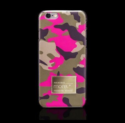 Capa iPhone 6s Plus e iPhone 6 Plus (tela 5,5) |  Camo in The Mood Pink