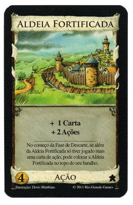 Aldeia Fortificada - Carta PROMO