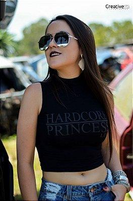 Cropped Black com gola - Hardcore Princess