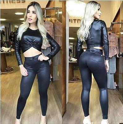 Calça Hot Disco Pants Cirrê Black - Hardcore Line