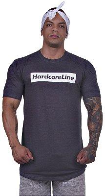 Camiseta Preta Mesclada - Hardcore Line