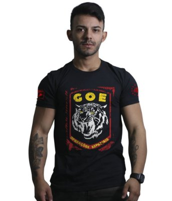 Camiseta Militar GOE Grupo de Operações Especiais